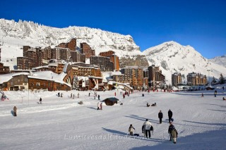 VILLAGE OF AVORIAZ, HAUTE SAVOIE, FRANCE