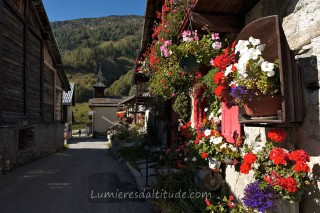 VILLAGE DU TOUR, CHAMONIX, HAUTE SAVOIE, FRANCE
