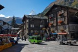 VILLAGE OF ZERMATT, VALAIS, SUISSE