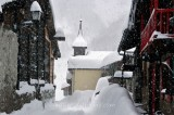 VILLAGE OF TOUR, CHAMONIX, HAUTE SAVOIE, FRANCE