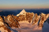 MONT DOLENT AT SUNRISE, MASSIF DU MONT-BLANC, HAUTE SAVOIE, FRANCE
