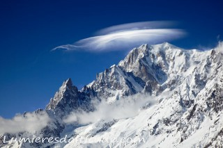 EAST FACE OF MONT-BLANC, HAUTE SAVOIE, FRANCE