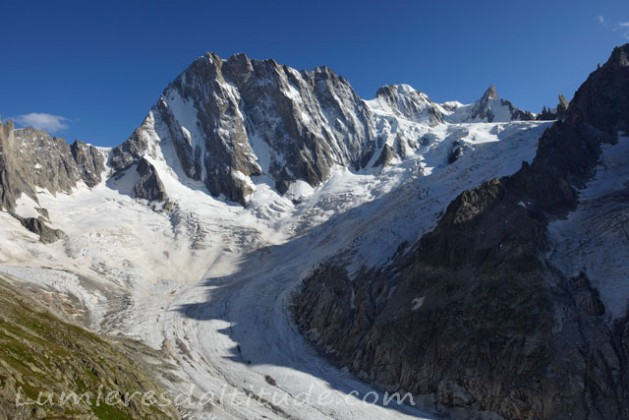 NORTH FACE OF GRANDES JORASSES, MASSIF DU MONT-BLANC, HAUTE SAVOIE, FRANCE