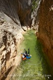 Gorgas Negras, canyoning, Espagne