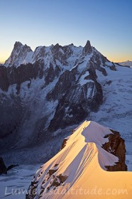 L'arete d'or..., aiguille du Plan, Chamonix, France