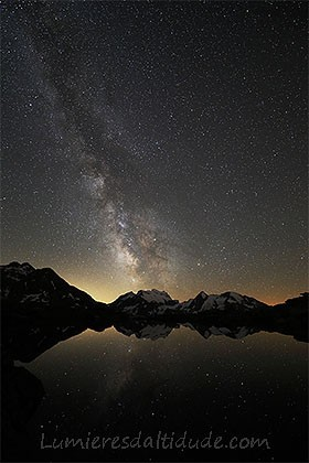 Milky way and Grand Combin