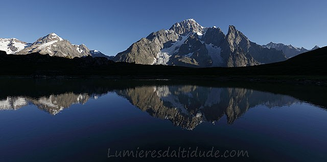 Reflexion on Mont-Blanc