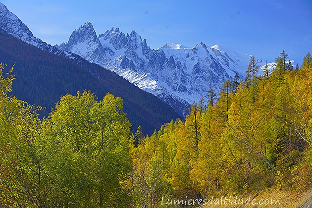 Autumn in Chamonix