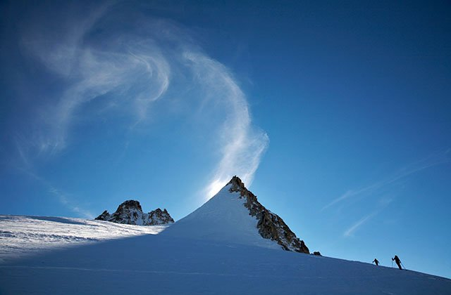 vorticity on the aiguille du Pissoir
