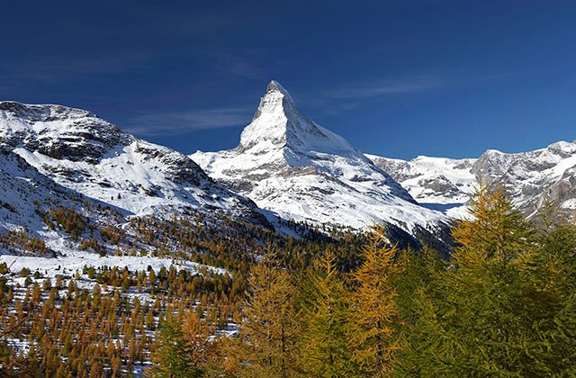 Matterhorn in autumn