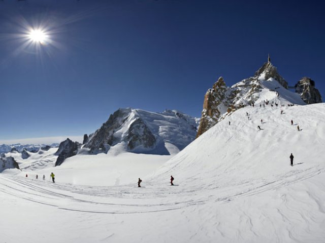 Start of the Vallée Blanche
